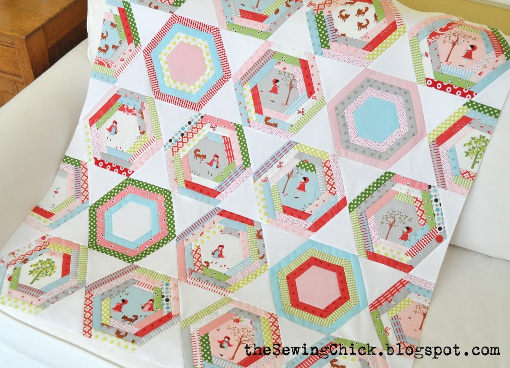 The Sewing Chick Hexagon Quilt Tutorial